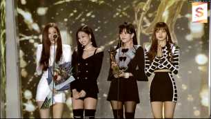 Blackpink Seoul Music Awards 2018